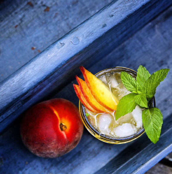 Spiced Peach Julep