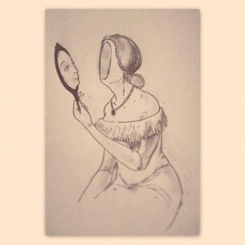 """The Mirror's Stolen Glance"""