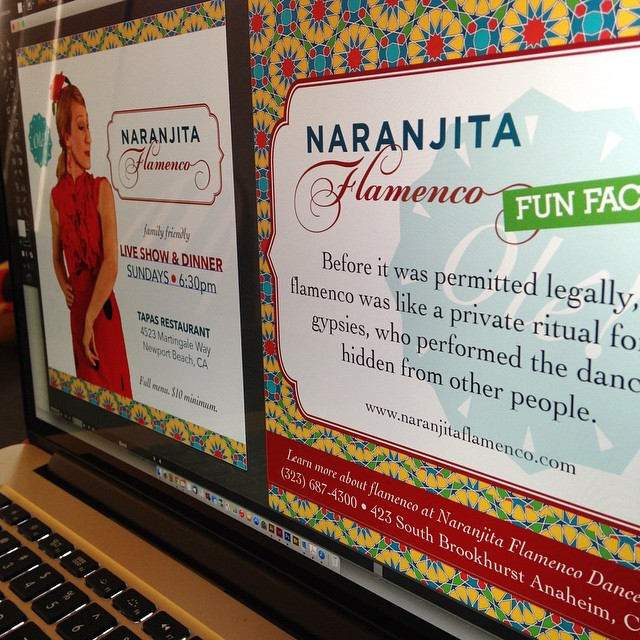 Social Media Promos for Naranjita Flamenco