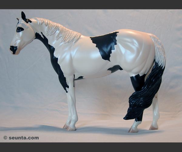 2006 Stone Horses : Pearl Windswept : OOAK