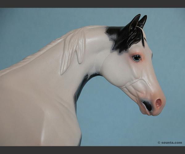 2006 Stone Horses : Acrylic handpainted : OOAK : signed