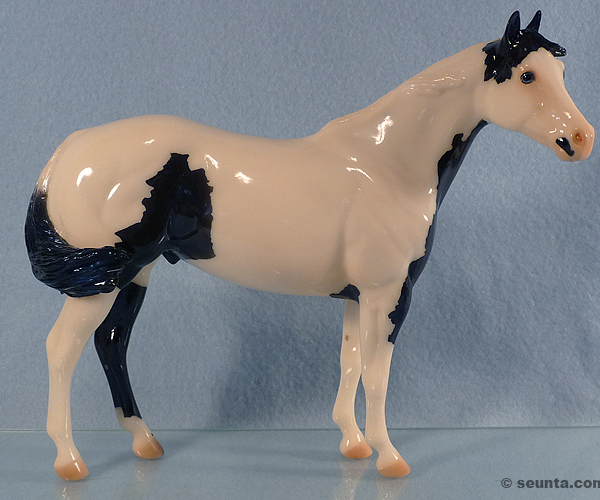 2006 Stone Horses : Glossy short windswept : only 5 made  :  signed