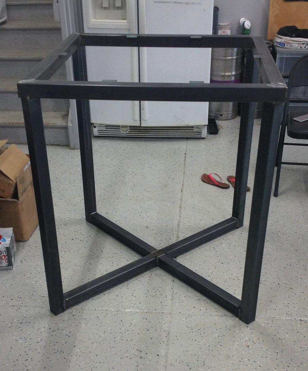 Hi Top Table Frame