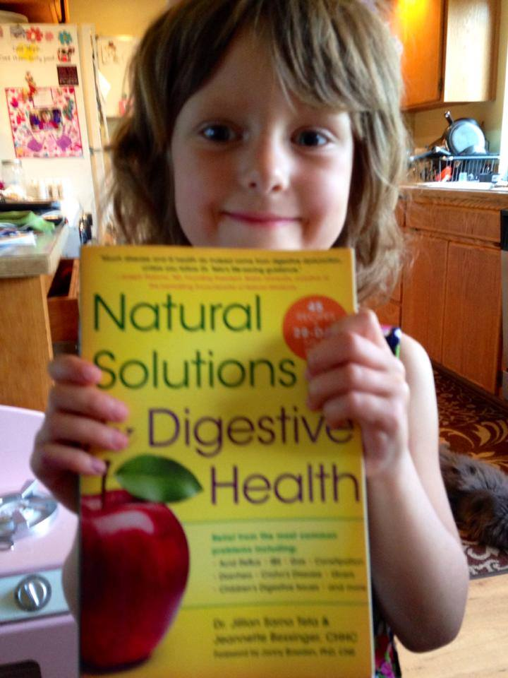 Natural Solutions for Digestive Health Book by Dr. Jillian Teta.