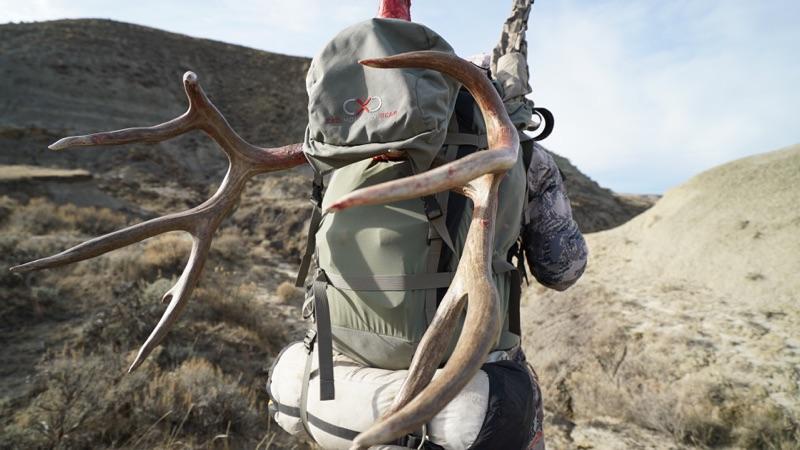 Backpack  –   Exo Mountain Gear K2 5500    Photo credit Jeff Lusk  @jefflusky
