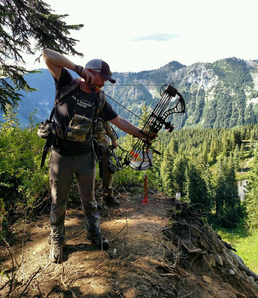 Zach shooting at the NW Mountain Challenge