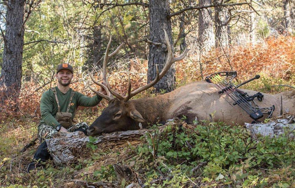 Jon and his Montana archery elk.