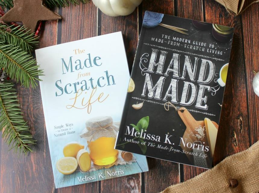 Melissa's 2 books!  Excellent resources for all things DIY.