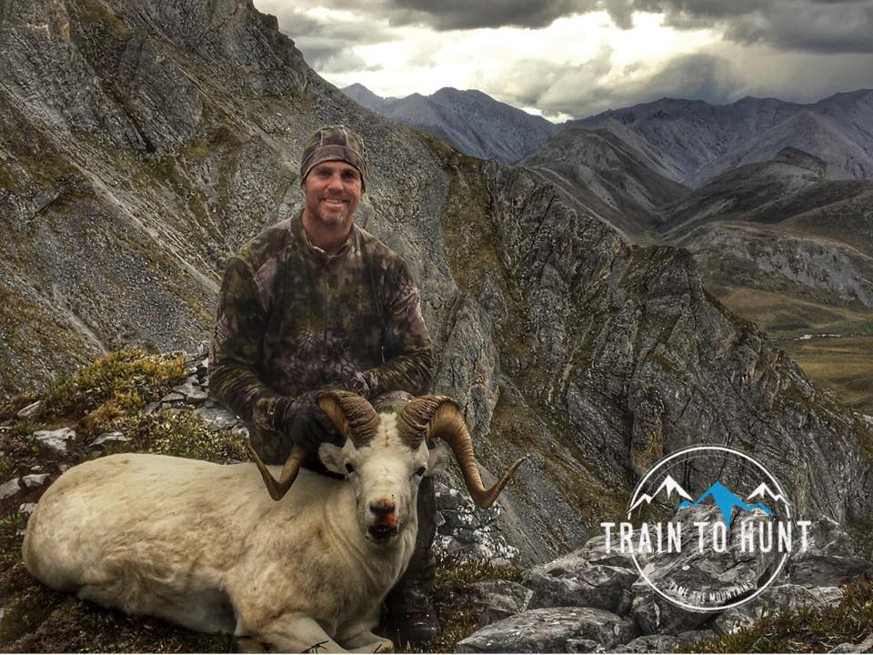 Kenton Clairmont and his Alaska Sheep