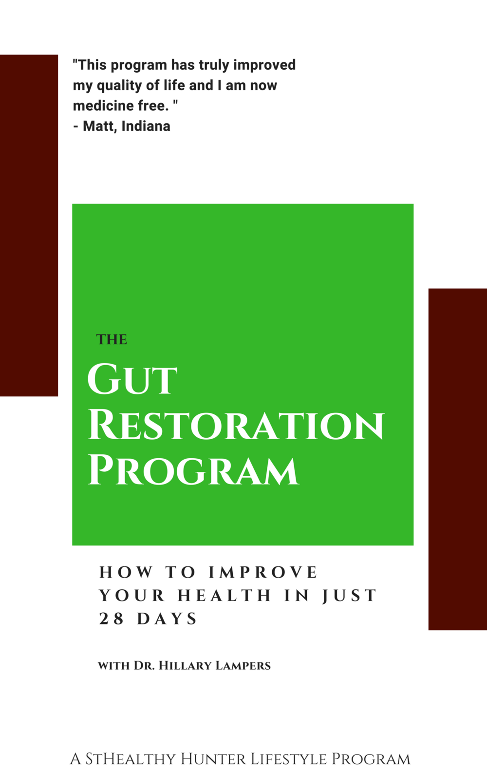Gut Restoration Program -  Listen to the Hunt Harvest Health Podcast #7: Get Your Gut Right