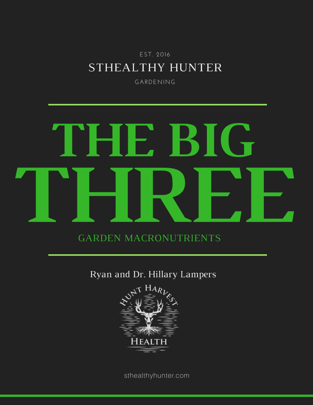 The Big Three Garden Nutrients  - Hear more on the HHH Podcast #61 on Soil
