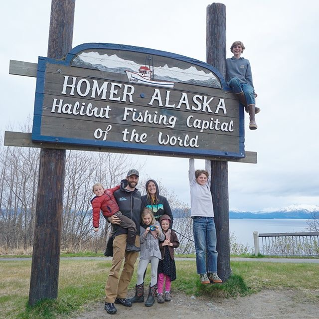 The Henderson Clan traveling the wilds of Alaska.