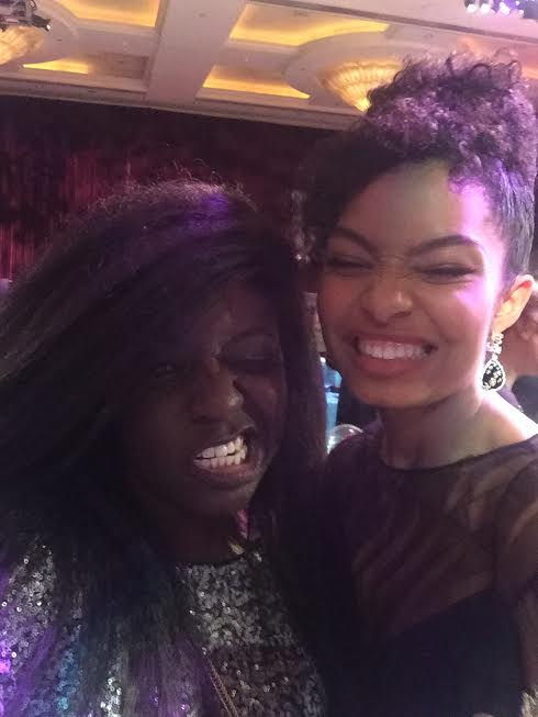 Melissa Mushaka and Yara Shahidi