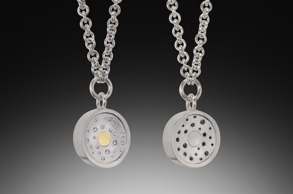 Diamond Spray Pendants