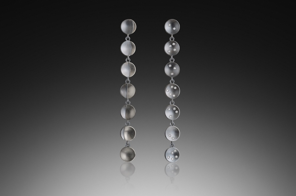 Moon Phases & Stars 14 Earrings