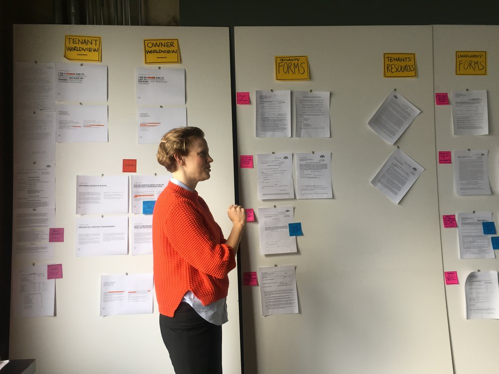 User research + synthesis.