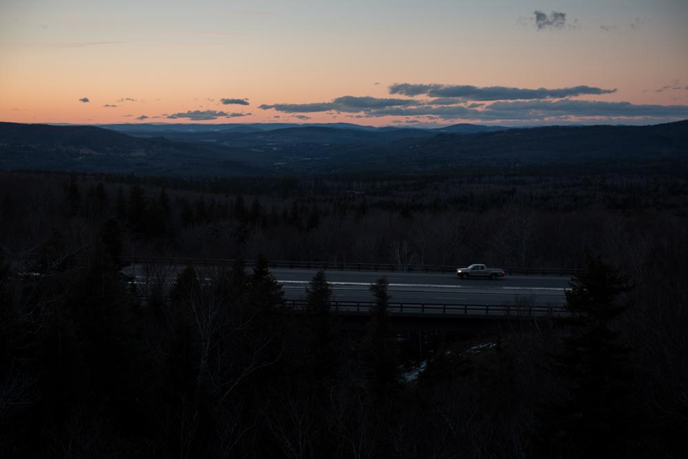 Interstate 93 on Monday, Feb. 1, 2016.