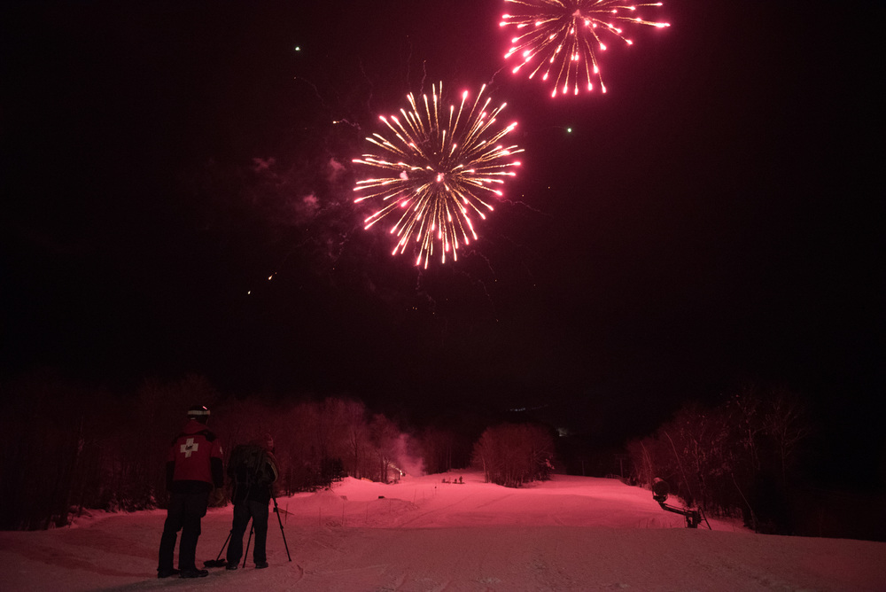 Family Night at Cannon Mountain on Saturday, Jan. 2, 2016.