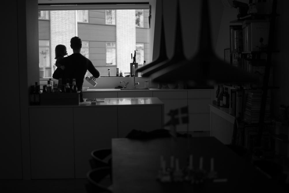 3/3/17 – Copenhagen, Hovedstaden – Martin and Dan take care of Ellen, 2, in their home in Copenhagen on Friday, Mar. 3, 2017. (Photo by Nicholas Pfosi)