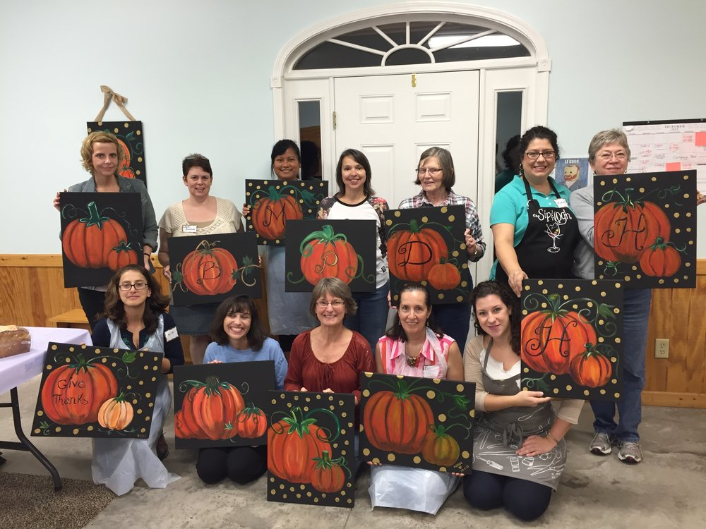 These ladies went from messy to masterpiece in just 3 hours!