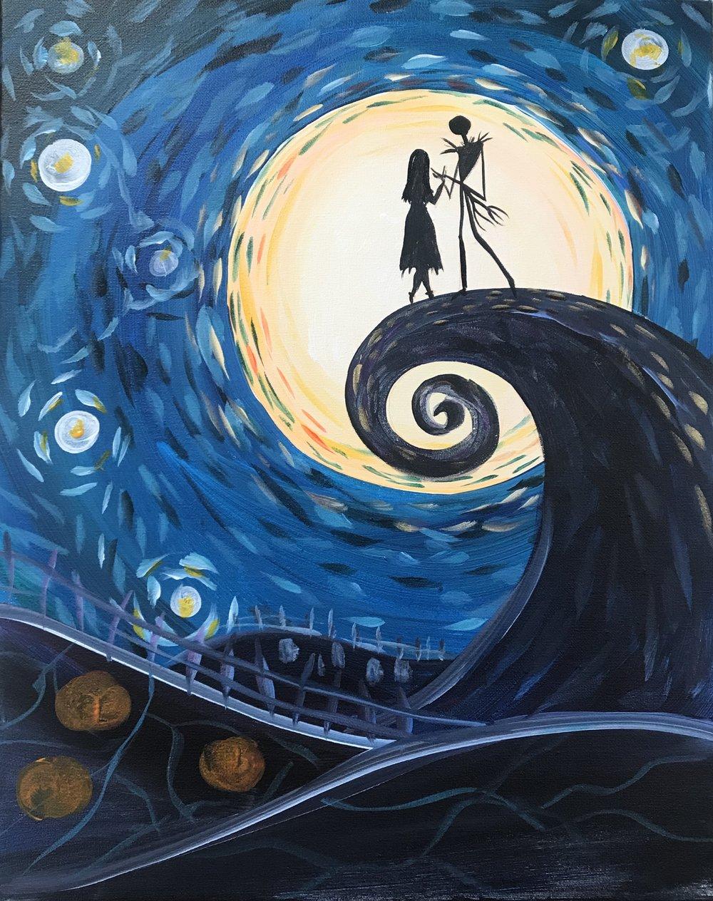 Sip&Gogh Paint A Canvas Classes — Sip&Gogh