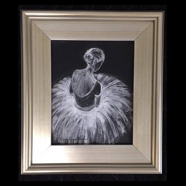 DEGAS INSPIRED BALLERINA BY DANA MARIO WOOD