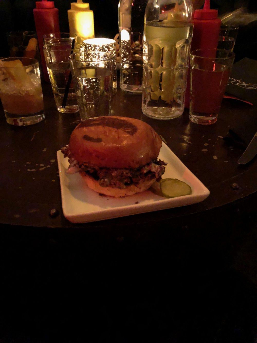The Parlour Burger