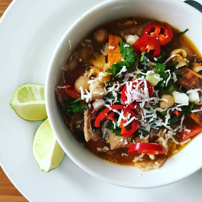 Jamie Oliver's Mexican Tomato Soup