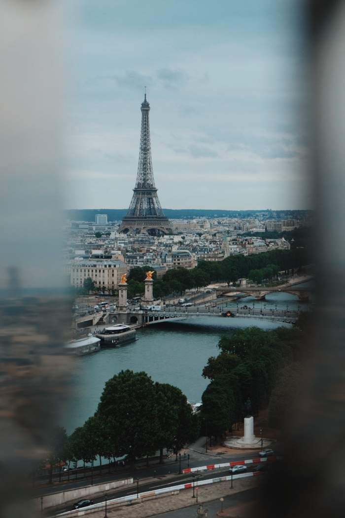 """Every view with the Eiffel Tower is magical. There is something about the landmark that is indescribable. Maybe it's the size or the extremely intricate iron works, but there is something about her...all I could ever say was, """"Wow."""""""