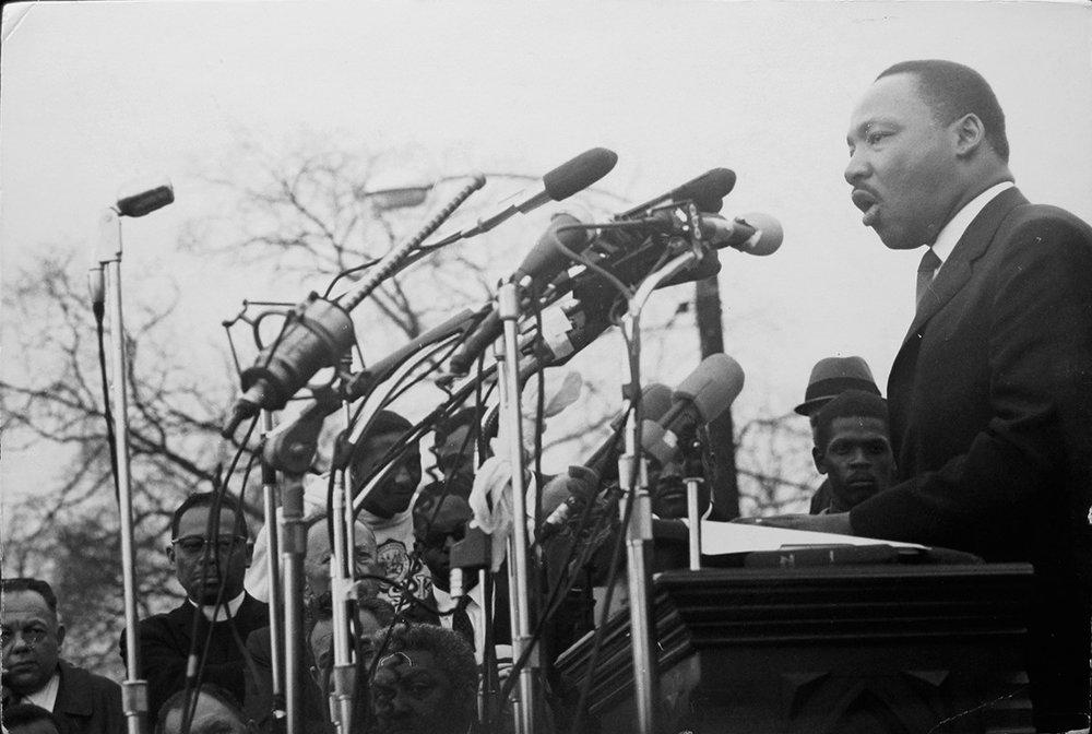 Dr. Martin Luther King Jr. 1965, photographed by Dennis Hopper