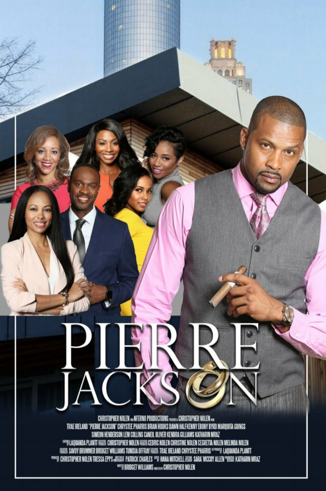 "Stay tuned for release date of NFerno Production's  ""  Pierre Jackson"" , featuring yours truly on  cast  and  score."