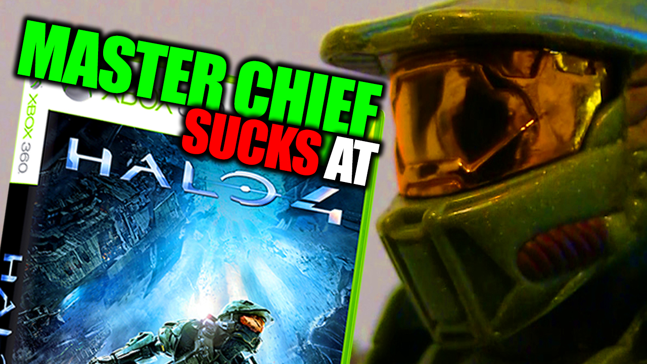 Master cheif sucks at halo 2