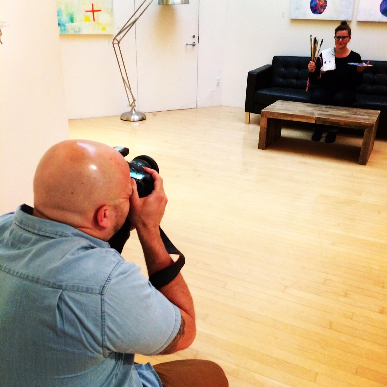 Scott_Murphy_behind scenes