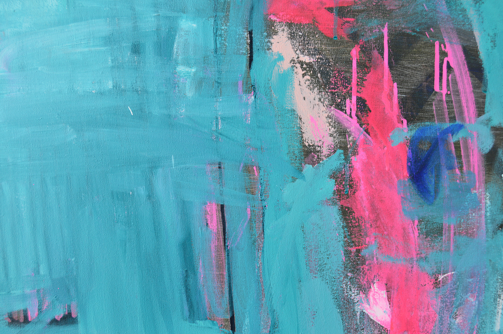 black and teal abstract acrylic.black closeup.2015.jenmeyer.24x30x1.5.jpg