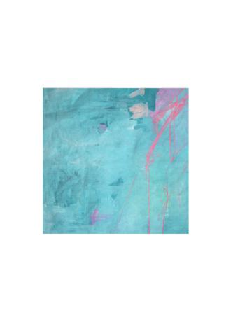 Bali Blue Pocket Square by Jen Meyer