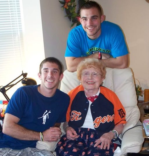 Grandma loved her Tigers! Especially her Justin Verlander jersey.