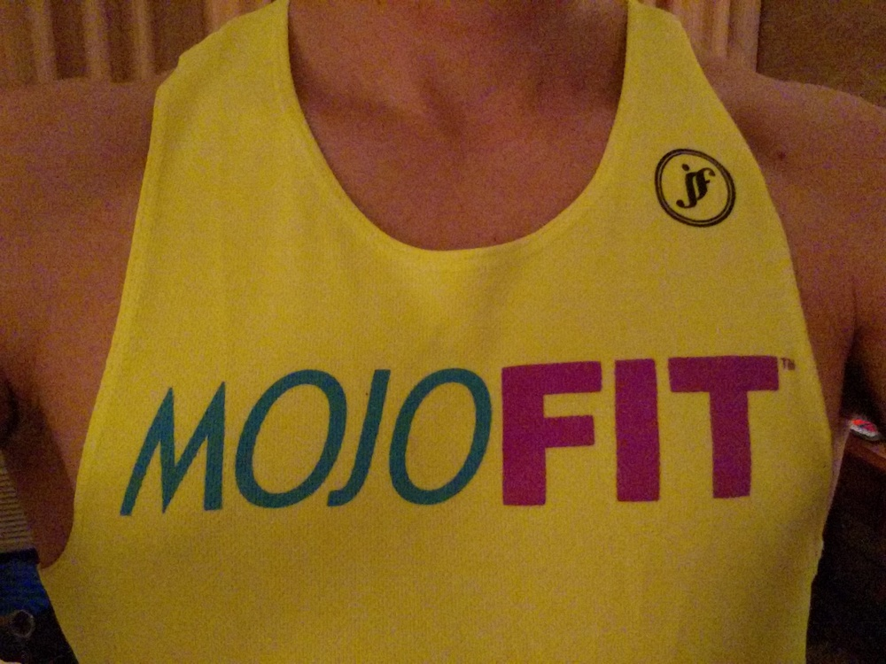 Rocking MojoFit and James Richard Fry on the front
