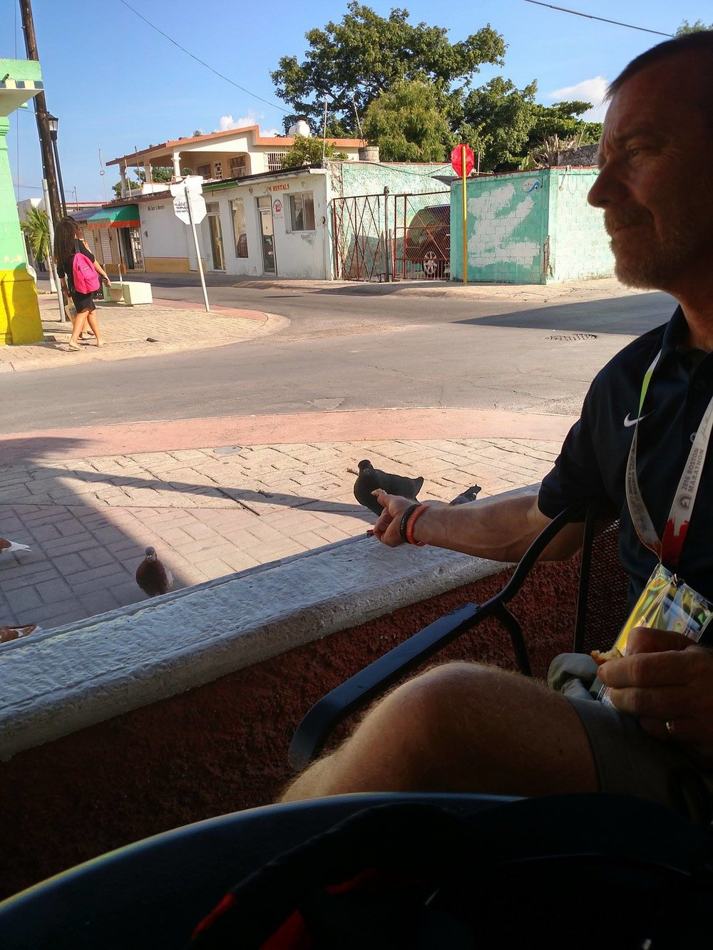 Dad made some friends in Mexico :)