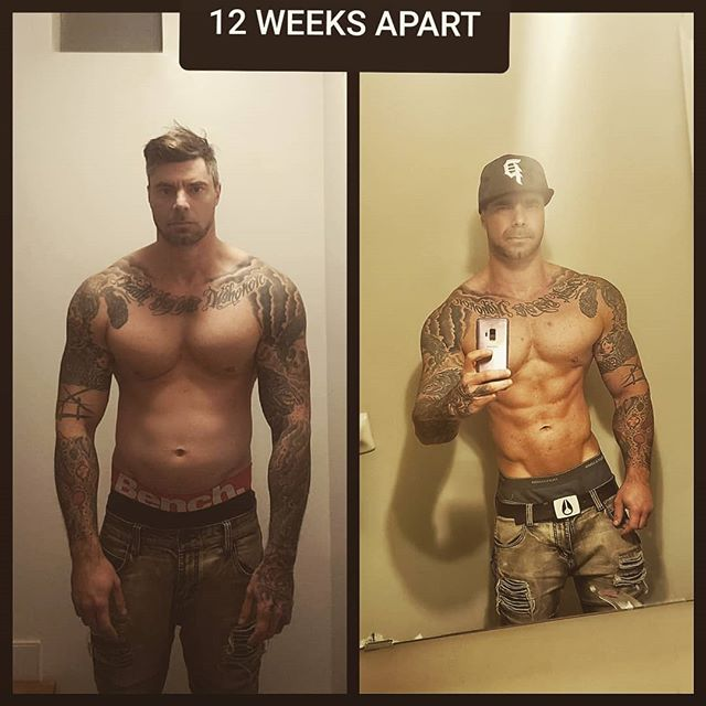 Coach Luke shares his personal 12 week transformation. Private packages from ALL of our incredible coaches are available now. Come on in and see what a difference our programs make! #workout #fitness #transformation #gym #crossfit #calisthenics #wellness #train #training #power #lift #beastmode