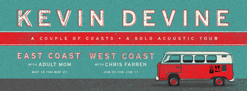East and West Coast tours from Kevin Devine