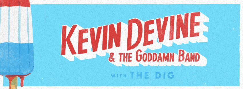 Kevin Devine is touring around and playing Lollapalooza in August!