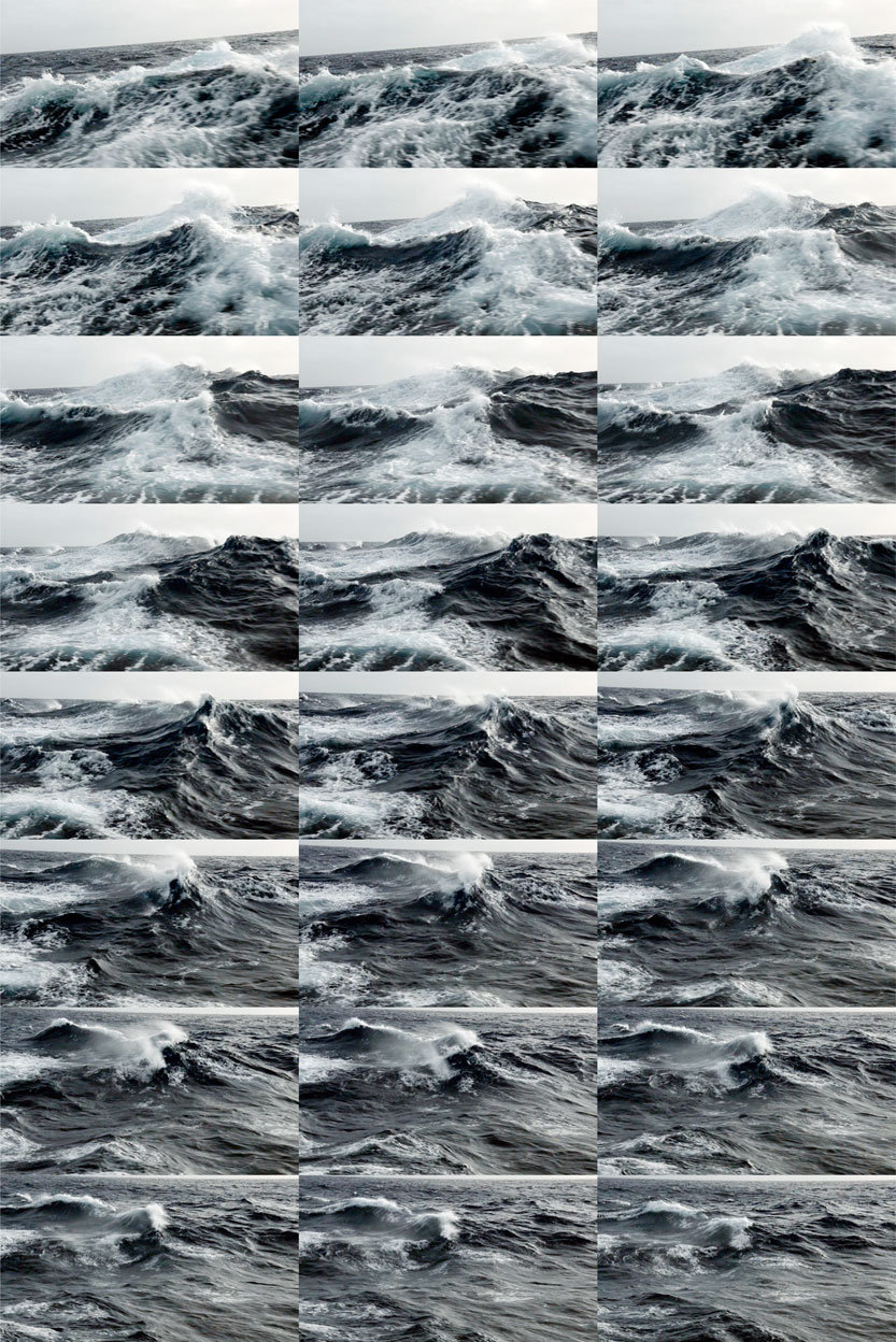 24 Frames, 1 second, Thousands of Years, 2011
