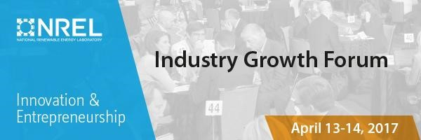 NREL Industry Growth Forum 2017