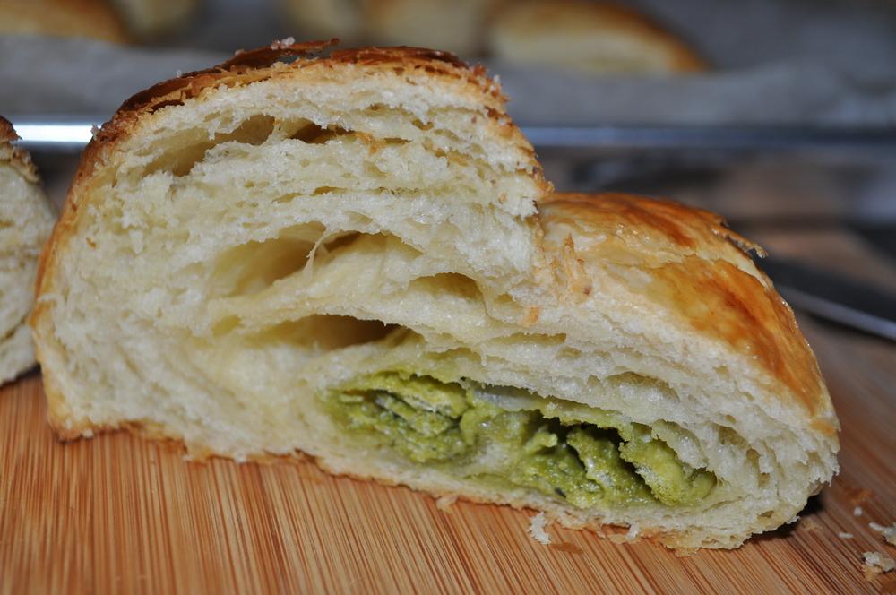 Green Tea Kit Kat Croissant