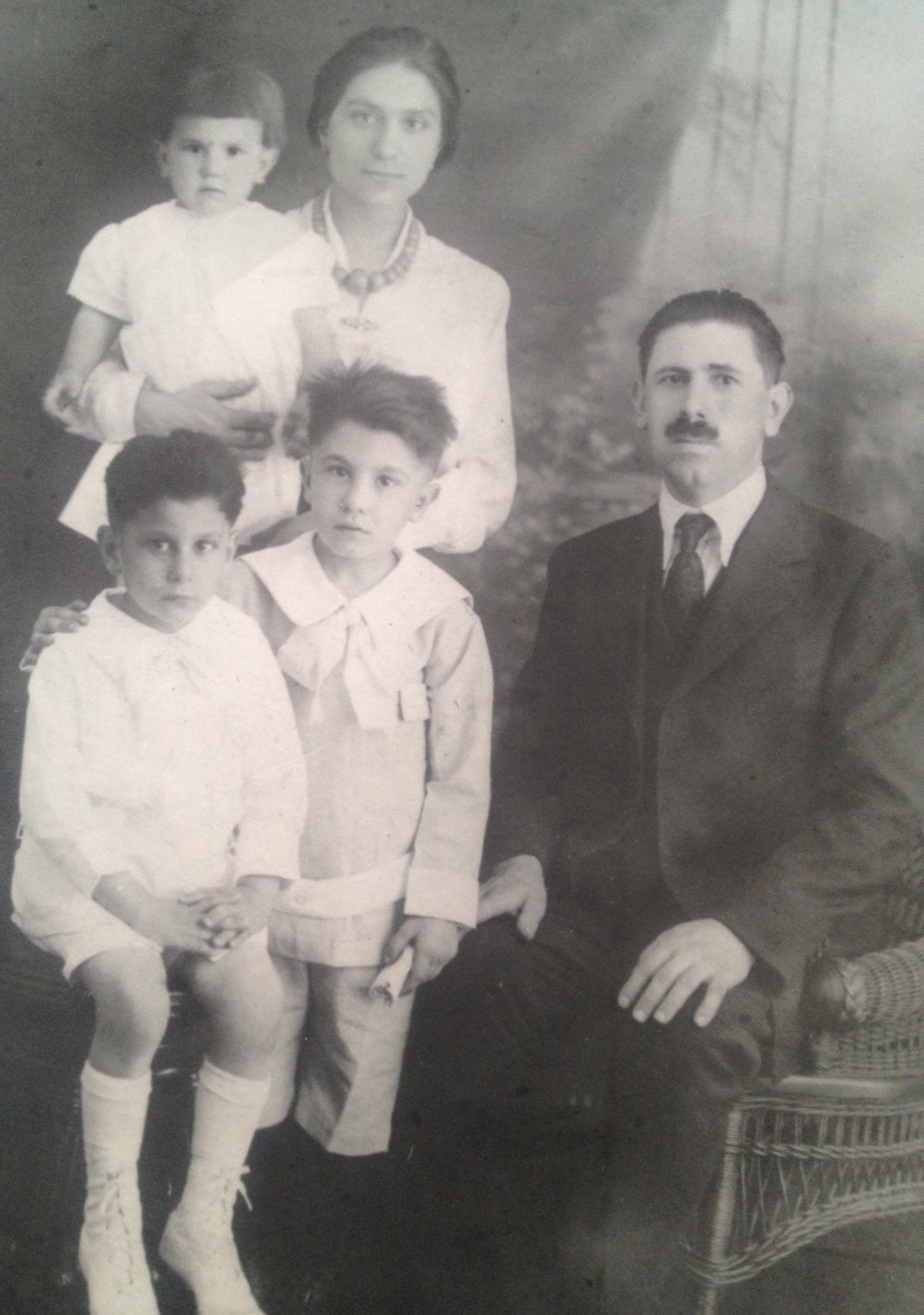My Grandmother, Cesira DeLaurentiis and her family.