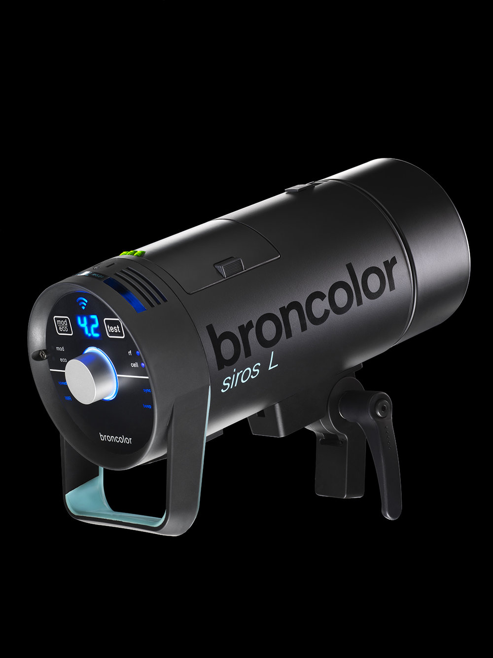 Broncolor Siros L 800 Ws. Photo courtesy of Broncolor