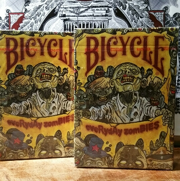 DUAL DECK COMBO Everyday Zombies 6.00 (US SHIPPING INCLUDED) (US ONLY)