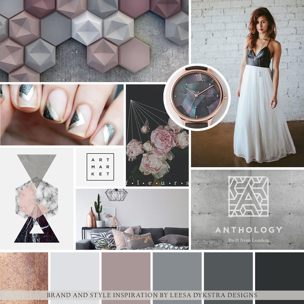 Mood Board for Jennie Karges Photography by Leesa Dykstra Designs