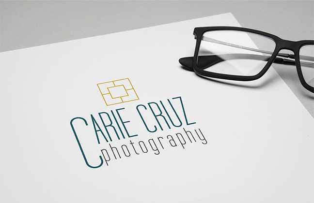 Carie Cruz Photography Logo and Brand by Leesa Dykstra Designs.png