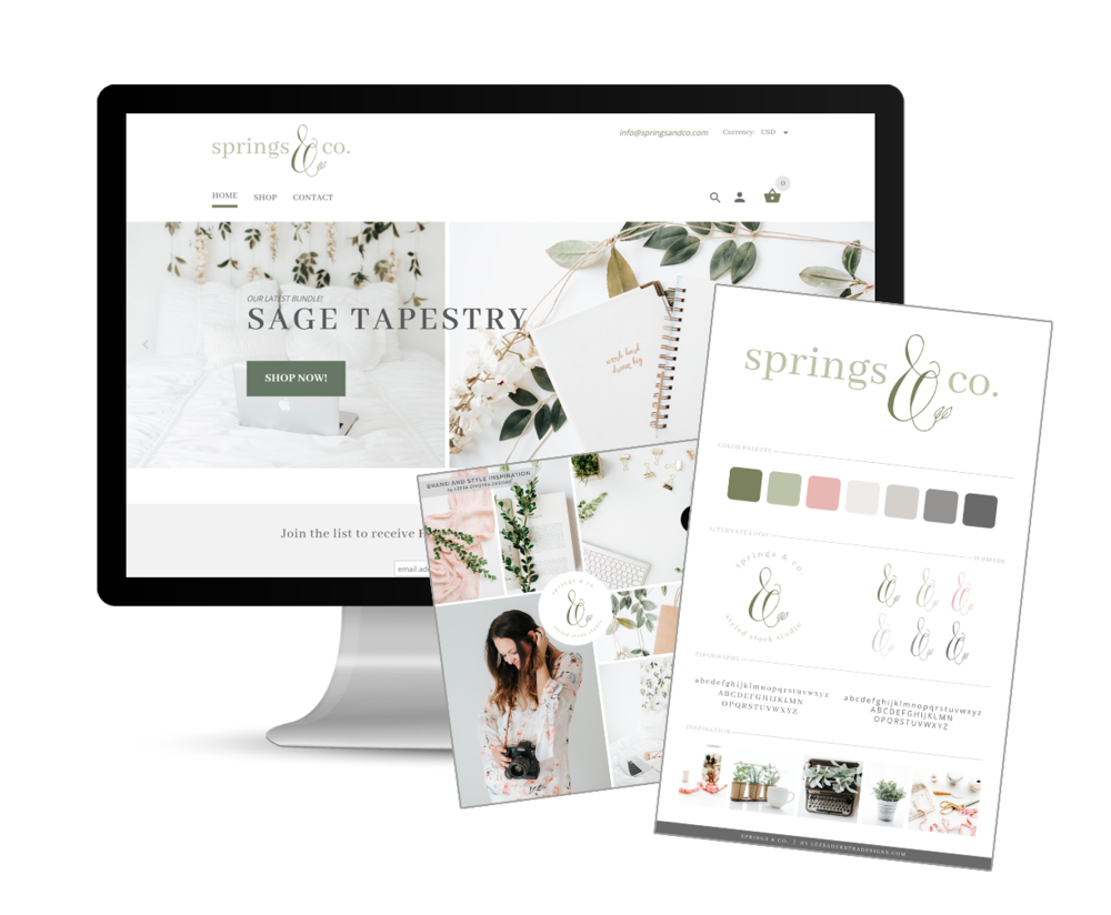 Leesa Dykstra Designs - Springs & Co Styled Stock Studio